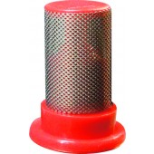 FILTRE A CYLINDRE ANTI-GOUTTE 100 MESH ROUGE