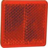 CATADIOPTRE RECTANGULAIRE 57X40 ADHESIF ORANGE