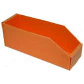 BOITE ORANGE PLASTIBOX 280X90X105/70